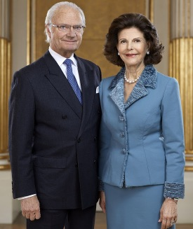 Image result for king gustaf queen silvia