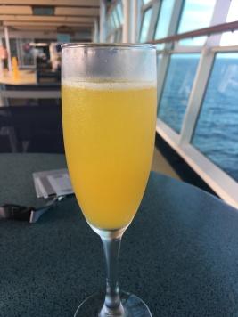 Mimosa para el Desayuno, pues porque no.